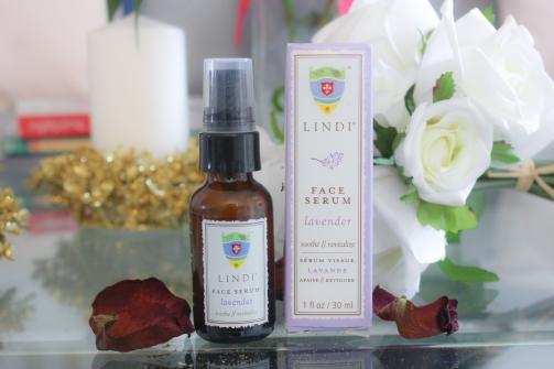 Lindi skin face serum lavender